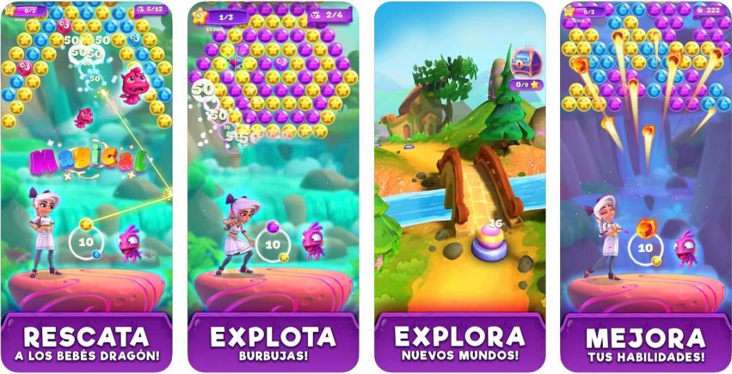 Luna's Quest Bubble para iPhone