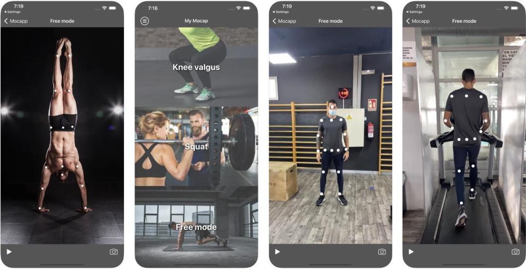 App de ejercicio físico para iPhone y iPad