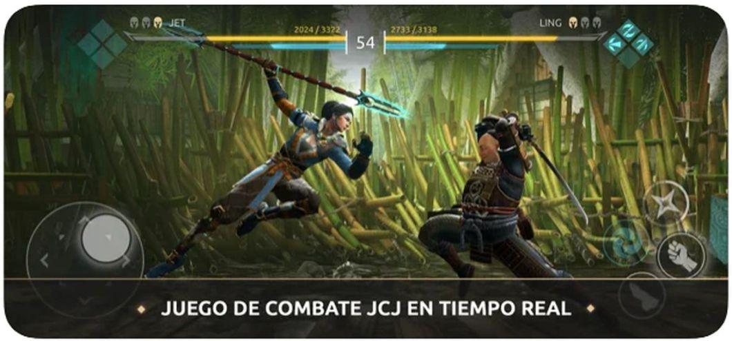 Juego de lucha Shadow Fight Arena