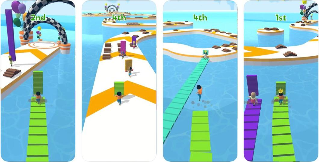 Juego Shortcut Run para iPhone