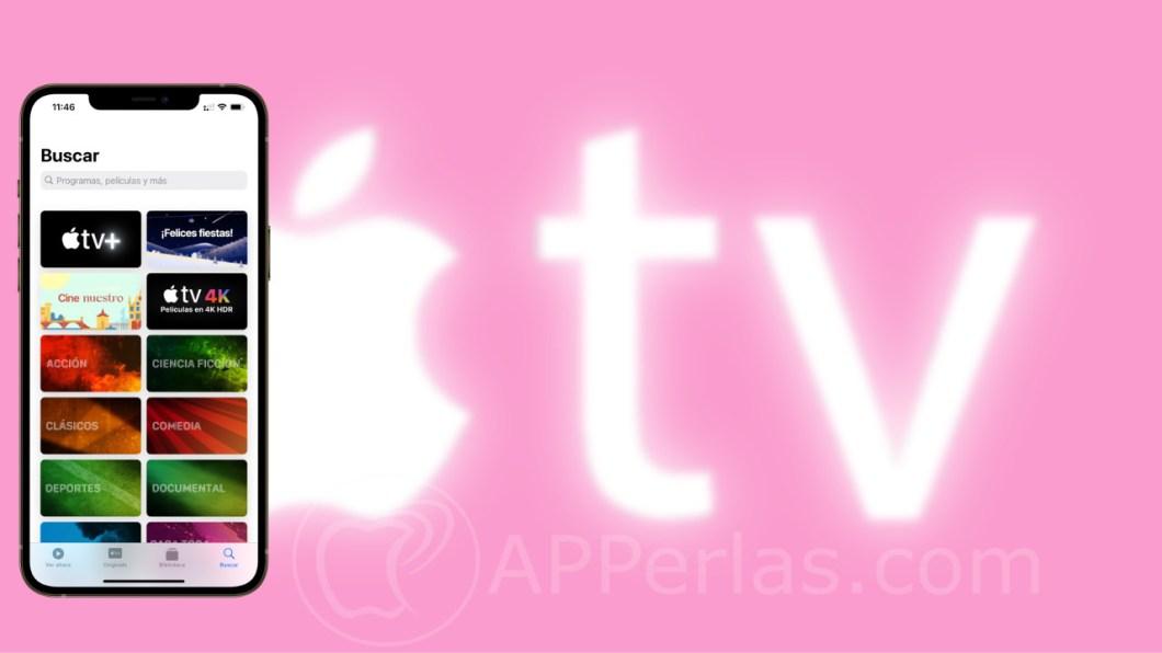 Apple TV+ por categorías
