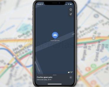 Configura el iPhone para que te recuerde dónde has aparcado el coche