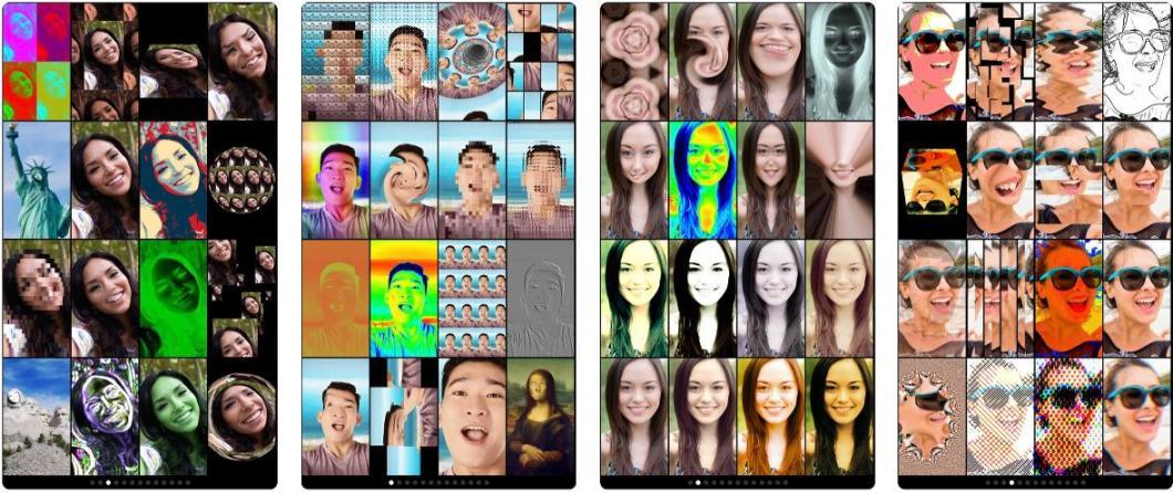 Divertido editor de imágenes para iPhone
