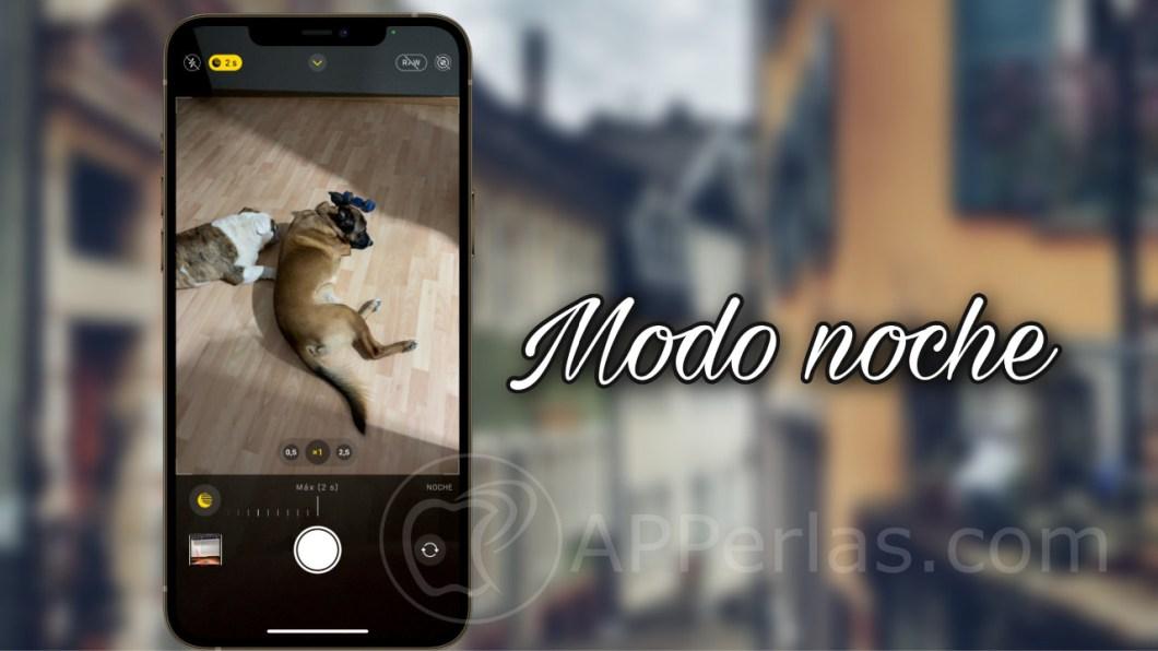 modo nocturno en el iPhone