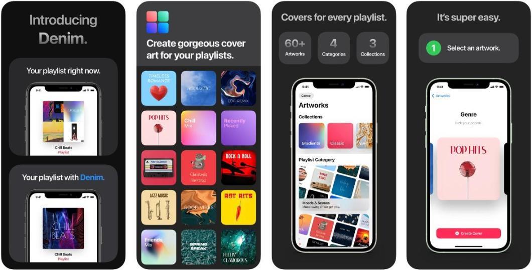 App para crear carátulas