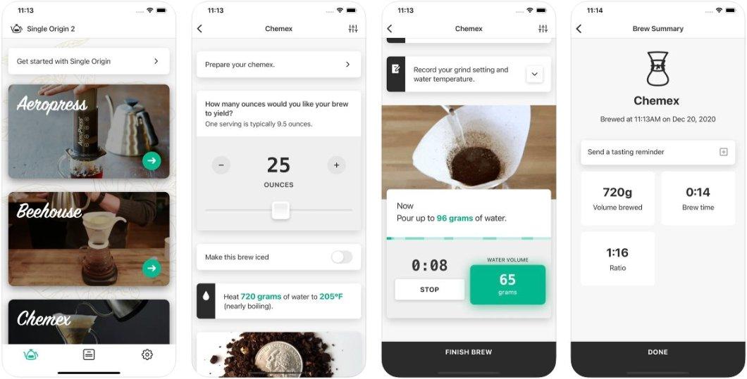 Prepara una gran taza de café con esta app