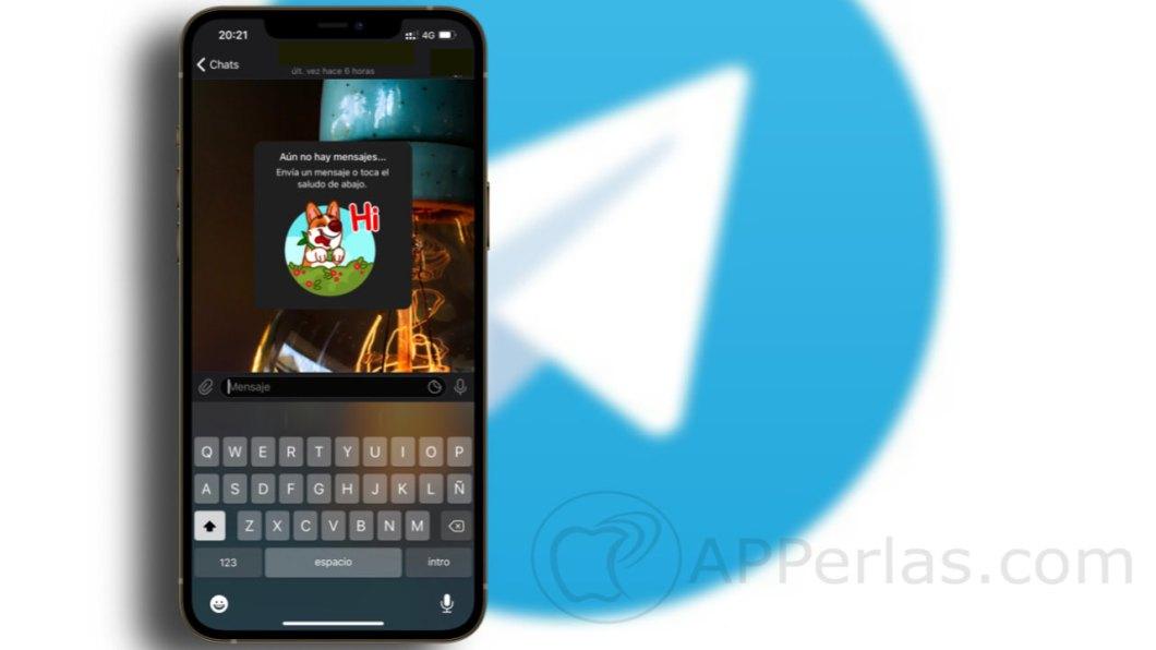 los nuevos contactos de Telegram
