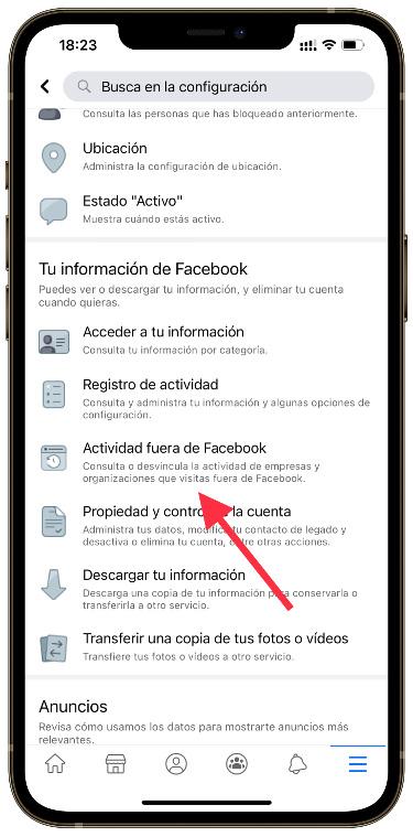 Facebook nos espía 1