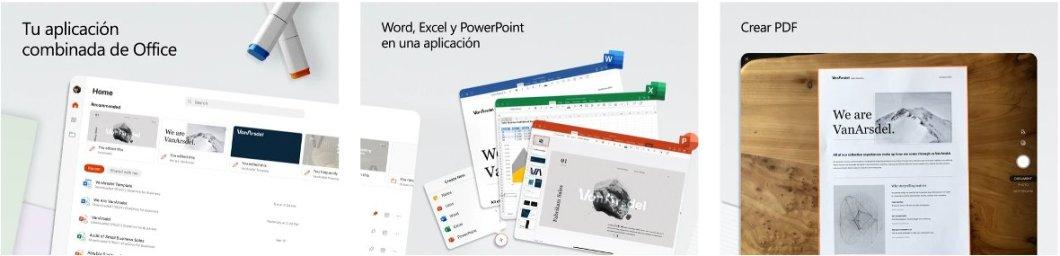 La app de Microsoft Office llega al iPad