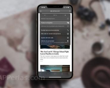 Cómo usar el traductor de Safari en el iPhone o el iPad