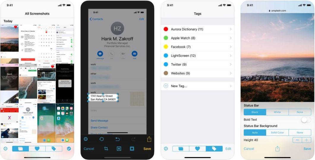 App de gestión de capturas de pantalla