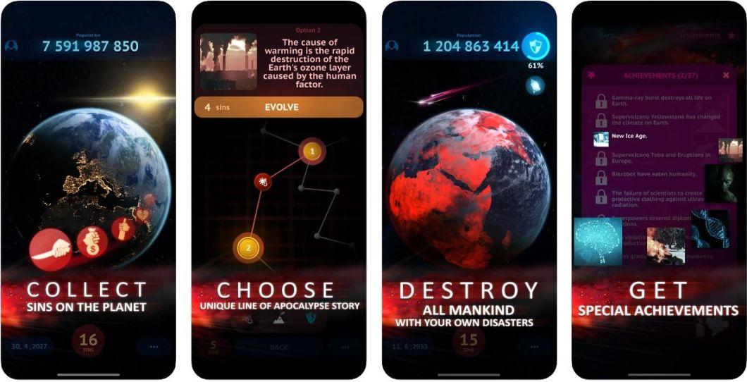 El juego del Apocalipsis mundial