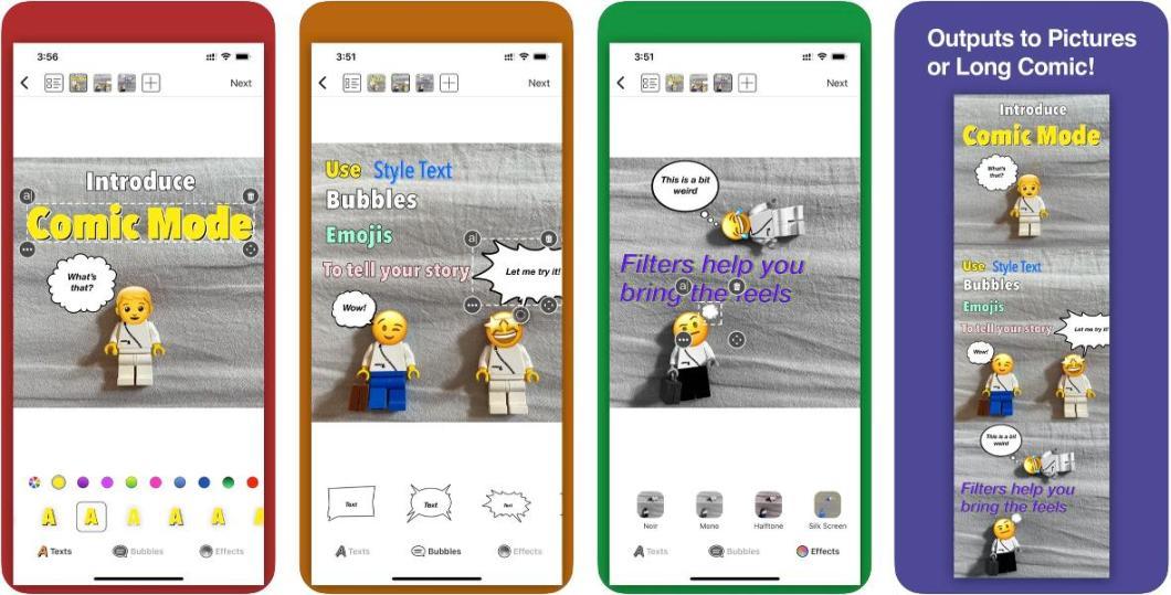 App para añadir texto a las fotografías