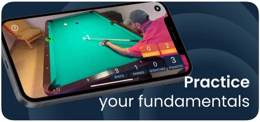 Aplicación para aprender a jugar al billar