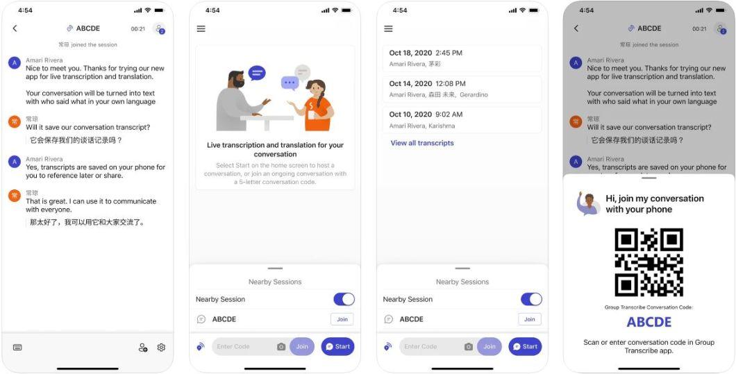 App de transcripción para iPhone y iPad