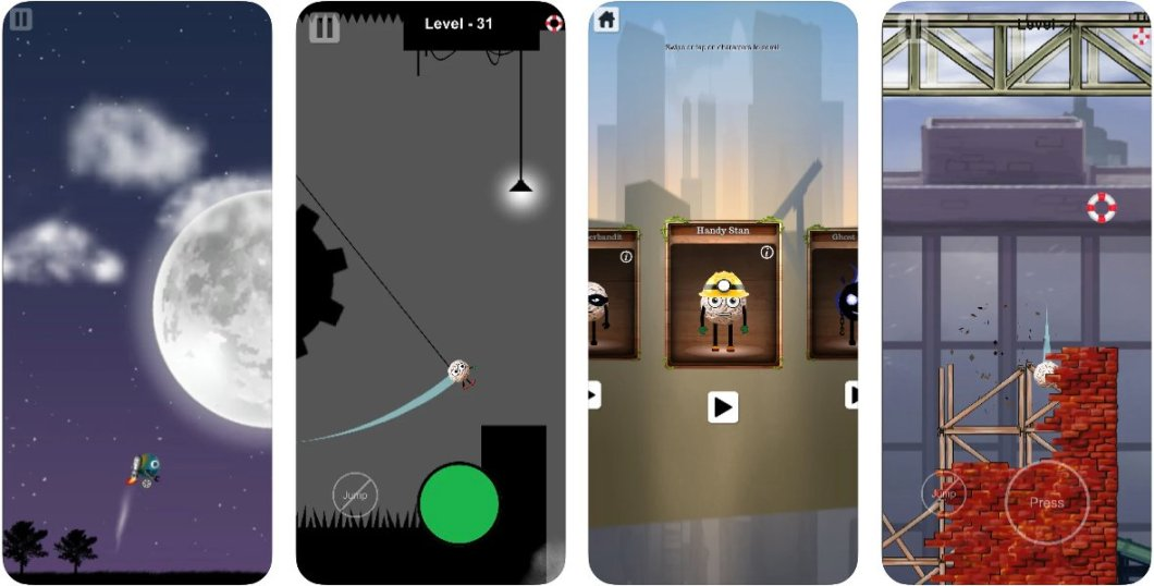 Juego arcade para iOS