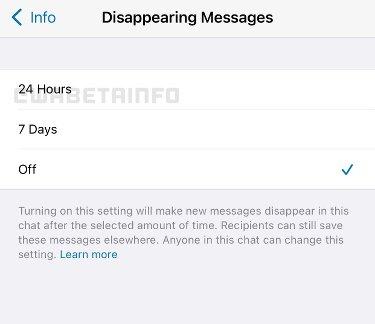 Mensajes 24 h WhatsApp