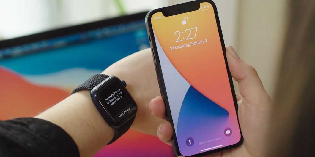 iPhone con el Apple Watch