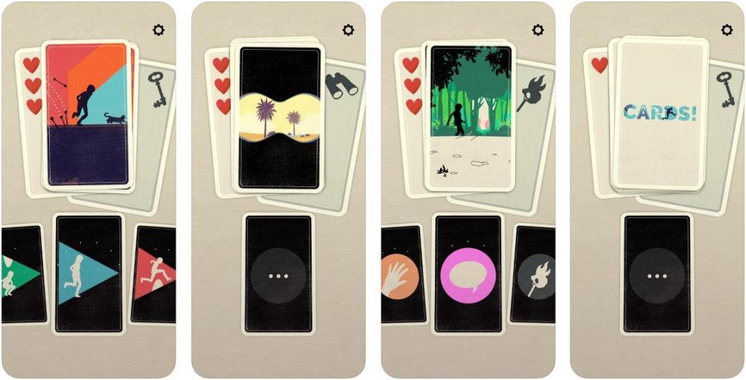Juego de cartas para iPhone y iPad