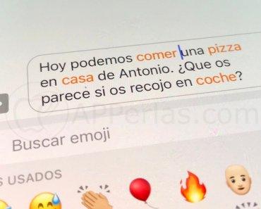 Cómo poner emojis en iPhone directamente y sin necesidad de buscarlos