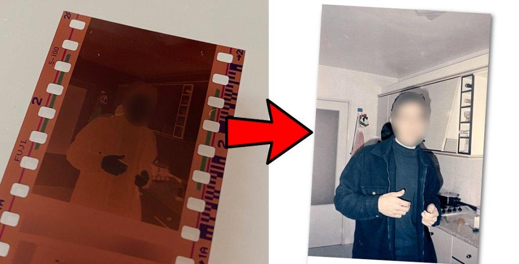 Foto revelada con FilmBox