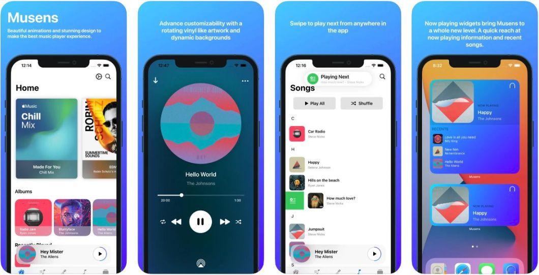 Reproductor de música para iPhone