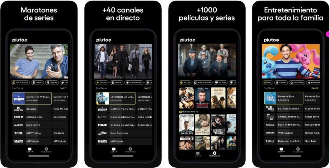 App de series y películas para iPhone