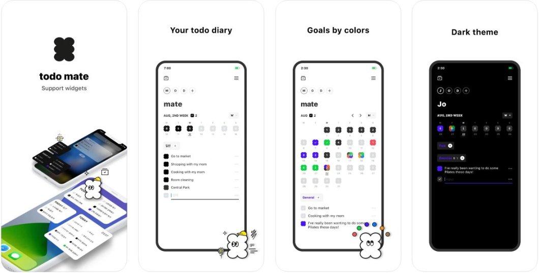 App de recordatorios y tareas para iPhone