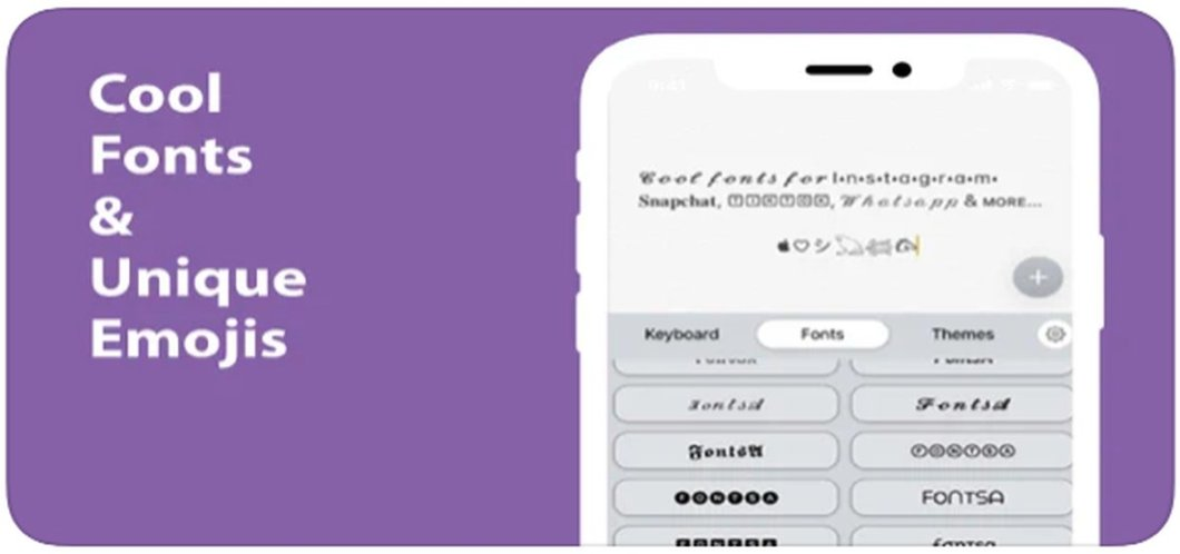 Fonts - Font Maker Keyboard