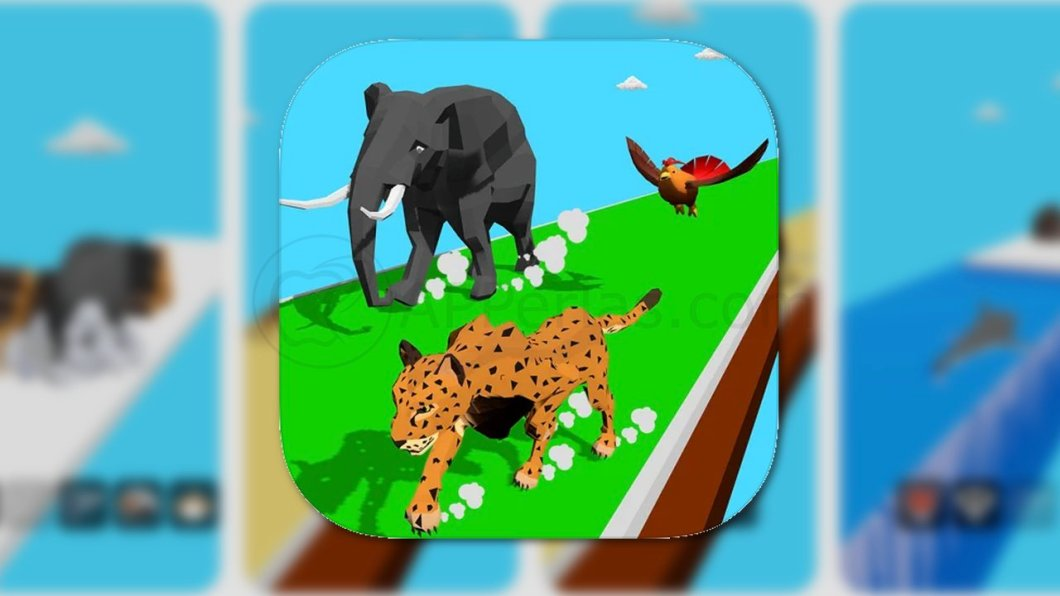 Juego de carreras de animales para iOS