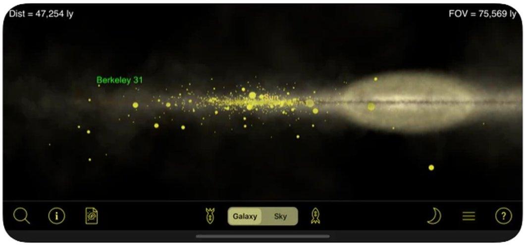 Our Galaxy app