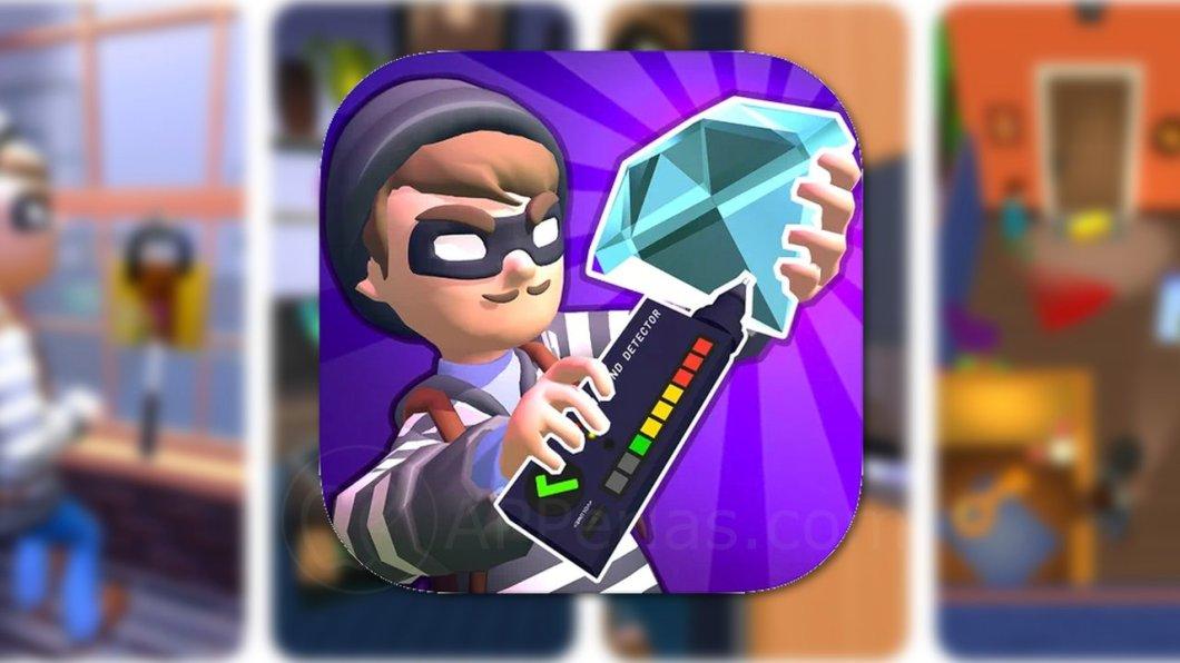 Rob Master 3D, un adictivo juego de ladrones para iPhone