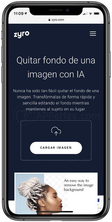 Web App Zyro