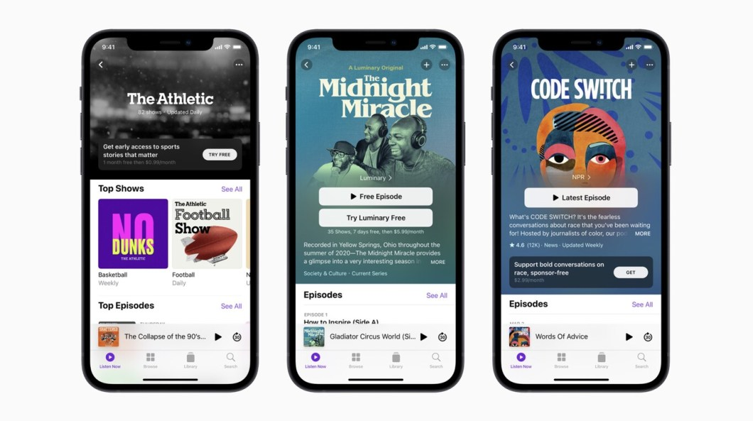 apple podcasts subscriptions 1