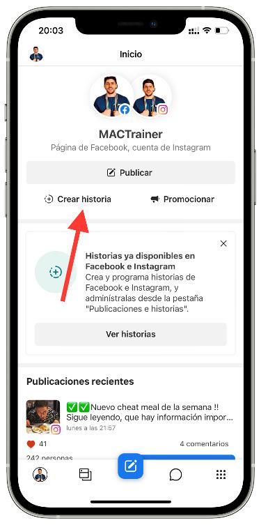 programar historias de Instagram 1