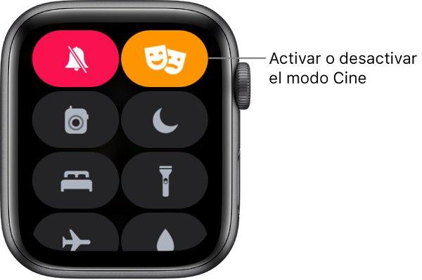 """Activa el """"Modo Cine"""" en el Apple Watch"""
