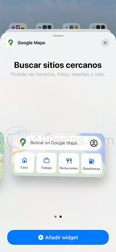 widgets google maps 2