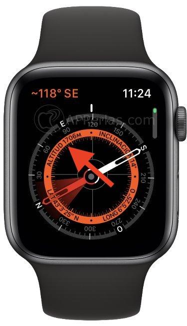 Altitud en el Apple Watch