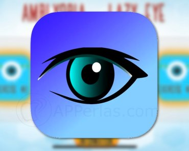 Esta app proporciona 20 ejercicios para el ojo vago