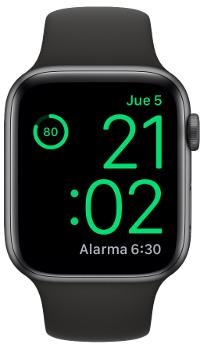 porcentaje de batería del Apple Watch 2