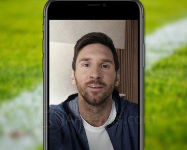 Así puedes enviar un mensaje de Messi personalizado a tus amigos