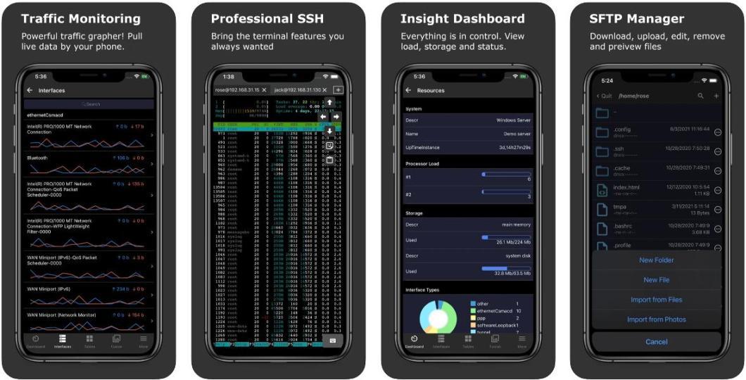 SNMP & SSH Terminal