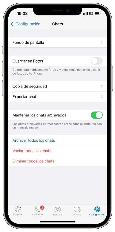 chats archivados de WhatsApp 1