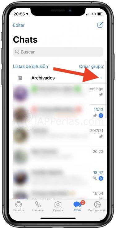 Notificación en el modo vacaciones de WhatsApp