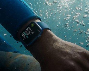 El Apple Watch Series 7 es igual de resistente al agua que sus predecesores