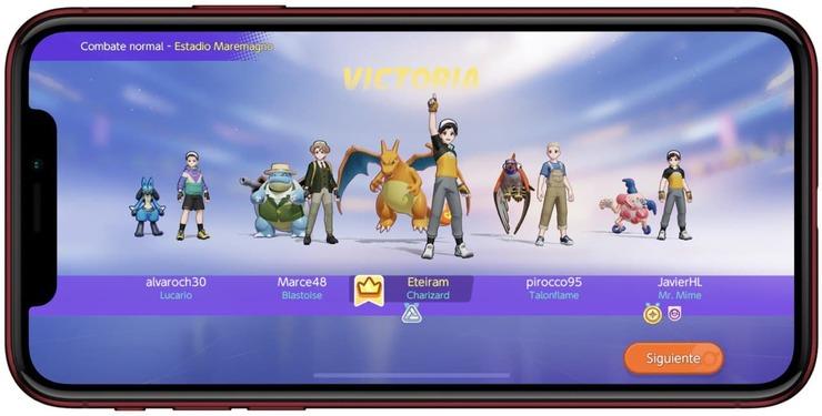 Victoria en Pokemon Unite