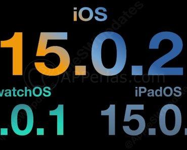 Novedades de iOS 15.0.2, WatchOS 8.0.1 y iPadOS 15.0.2