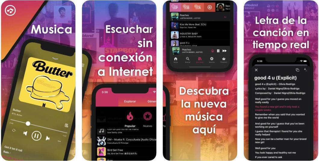 Musica XM internet conexión