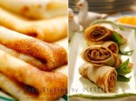 almond blinis... food styling notes by ockstyle