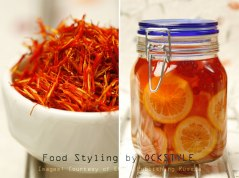 saffron and oranges... food styling notes by ockstyle